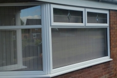 White PVCu Windows Double Glazing