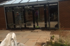 Conservatory preparation work 2