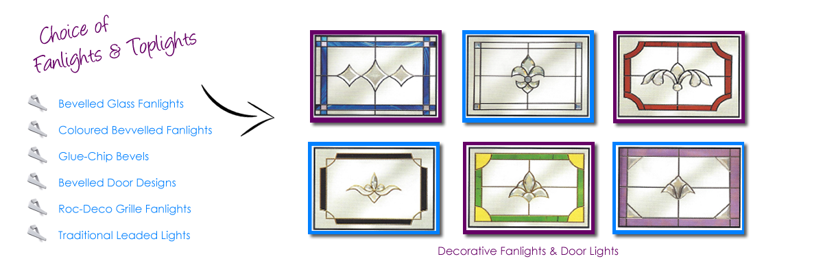 Fanlights and Toplights for Doors and Windows